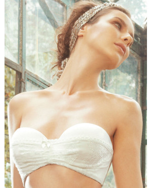 Ellipse Brassier strapless for brides