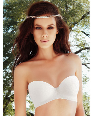 Ellipse Strapless luxury bra