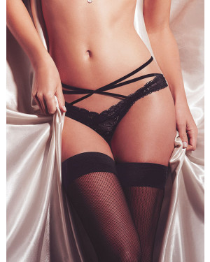 Ellipse Nuit Panty standard over cross straps