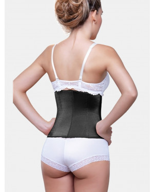 Clarette Black Waist Cincher Girdle