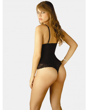 Katia Lace Bodysuit Thong